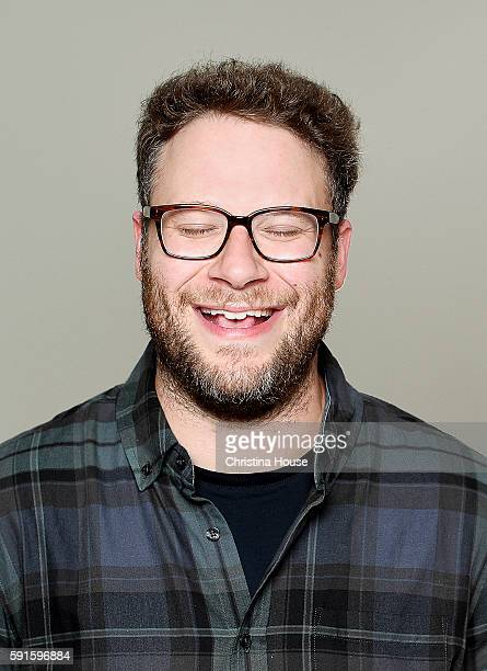CanadianAmerican actor filmmaker and comedian Seth Rogen is photographed for Los Angeles Times on August 2 2016 in Los Angeles California