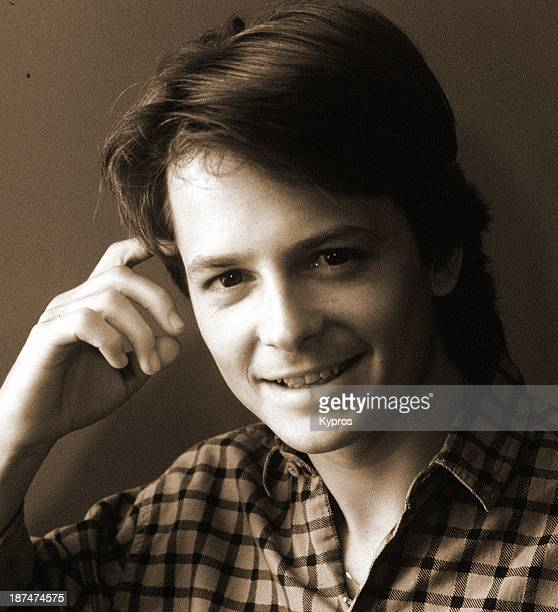 CanadianAmerican actor Michael J Fox circa 1985