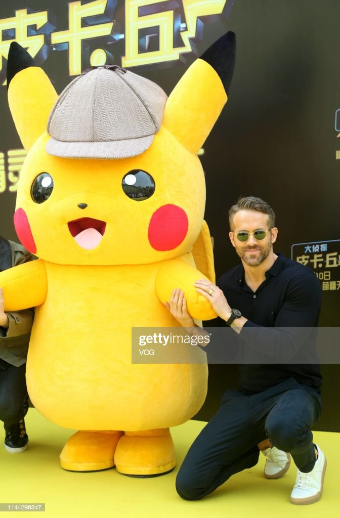 CHN: Ryan Reynolds Attends 'Detective Pikachu' Press Conference In Beijing