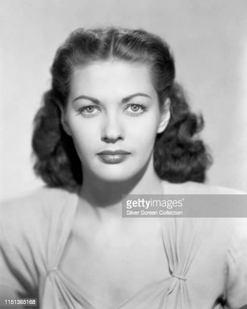 CanadianAmerican actress Yvonne De Carlo circa 1945