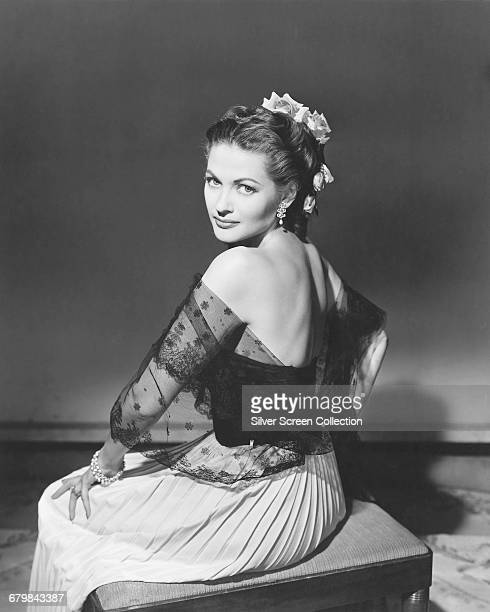 CanadianAmerican actress Yvonne De Carlo circa 1950