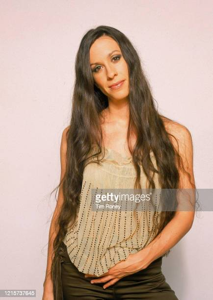 Canadian-American singer, songwriter, record producer, and actress Alanis Morisette, 2002.