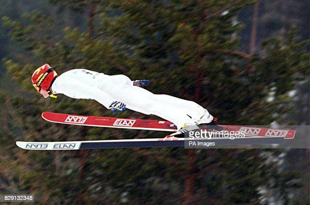 Canadianborn 20yearold Glynn Pedersen who is on course to become the first British ski jumper at the Winter Olympics since Eddie The Eagle Edwards...