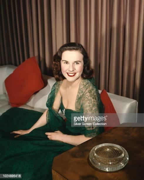 Canadianborn actress Deanna Durbin circa 1945