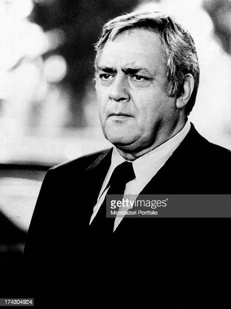Canadianborn American actor Raymond Burr acting in the TV series Kingston Confidential 1976