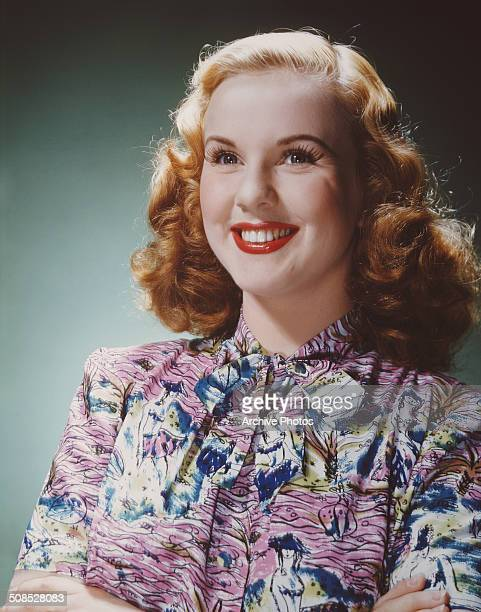 Canadianborn American actress and singer Deanna Durbin circa 1947