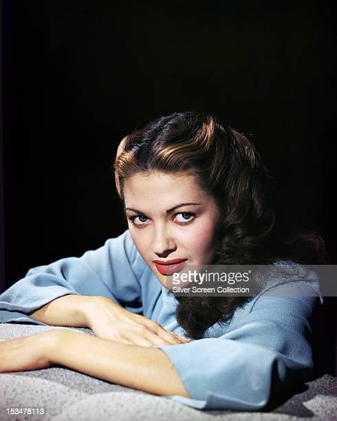 Canadianborn American actress Yvonne De Carlo circa 1945