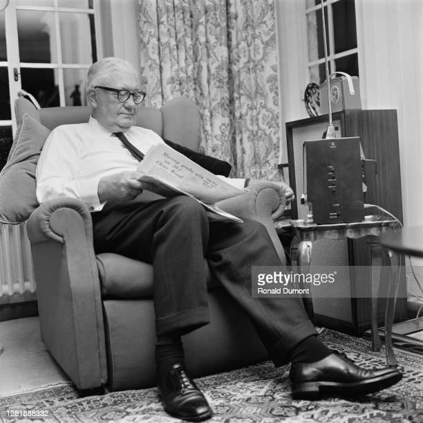 Canadian-born British newspaper proprietor Lord Roy Thomson adds 'The Times' to his publishing empire, 30th September 1966.