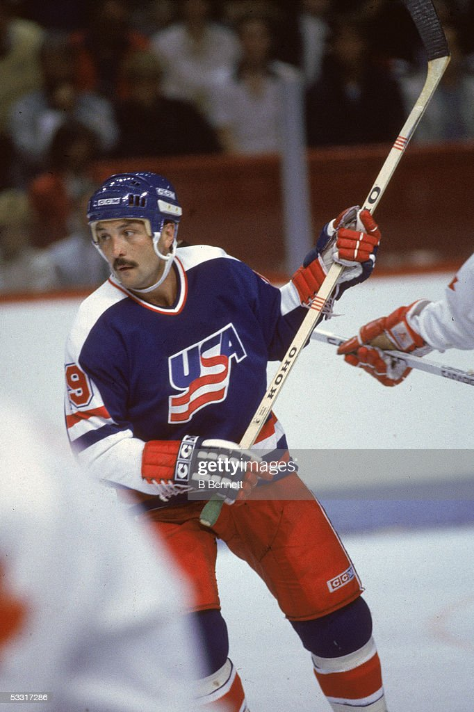 Bryan Trottier At 1984 Canada Cup : News Photo