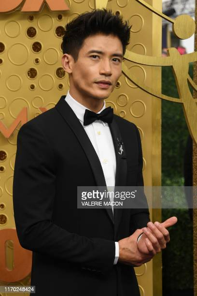 CanadianFilipino actor Manny Jacinto arrives for the 71st Emmy Awards at the Microsoft Theatre in Los Angeles on September 22 2019