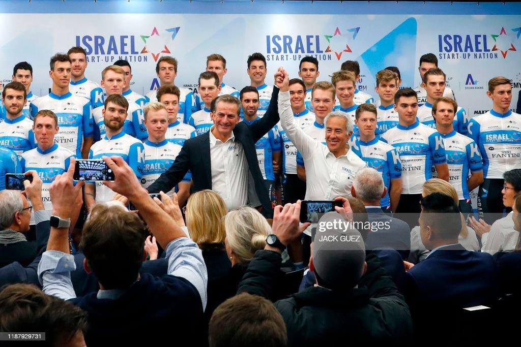 ISRAEL-CYCING-FRANCE-CANADA : News Photo