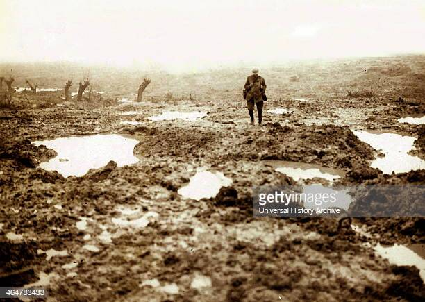 Canadians Wounded at the Battle of Passchendaele
