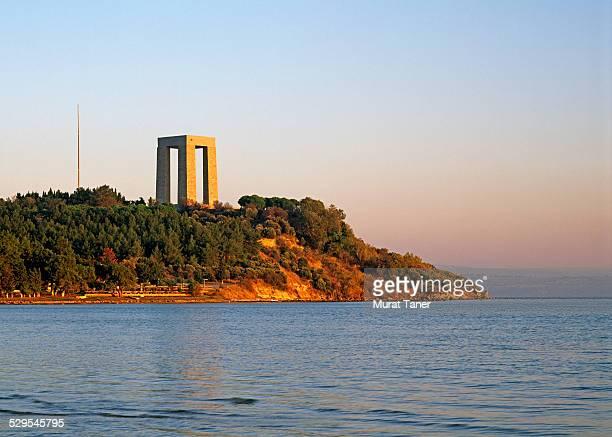 canakkale martyrs' memorial (abide) - 殉教者 ストックフォトと画像
