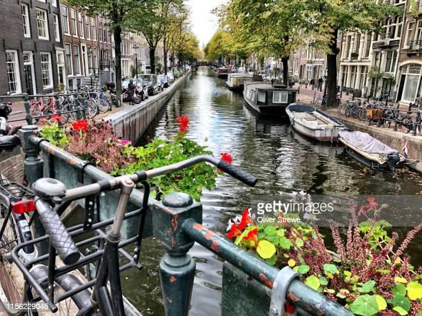 canal amsterdam - amsterdam stock-fotos und bilder