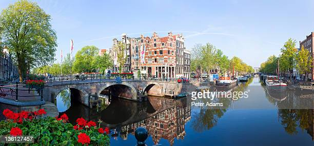 Canal, Amsterdam, The Neatherlands, Holland