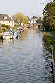 Canal at Hungerford. Berkshire. England