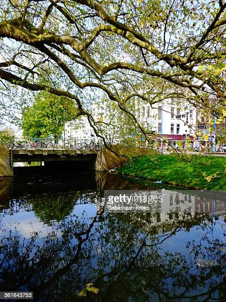 Canal at Westersingel, Rotterdam, Netherlands
