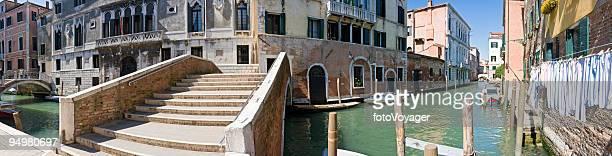 Canal bridge Venice