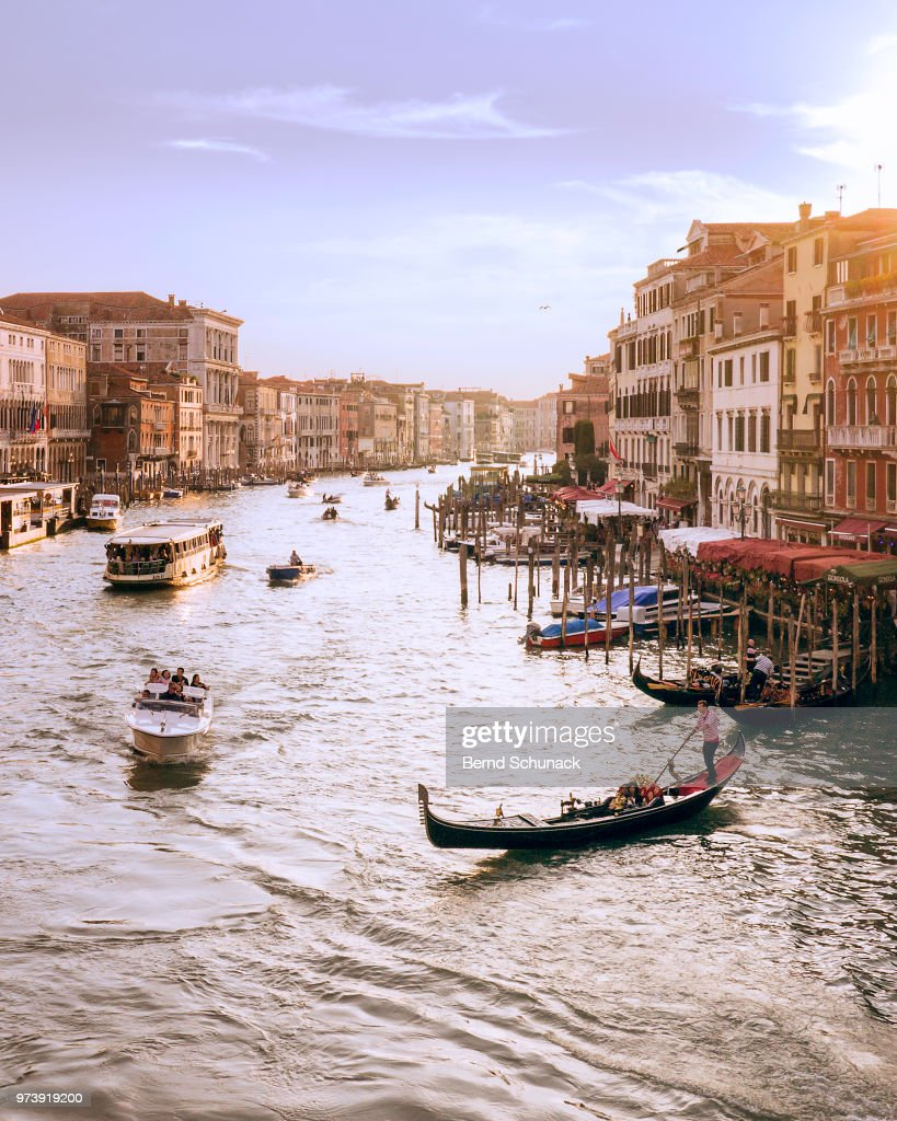 Canal Grande in Venice : Stock Photo