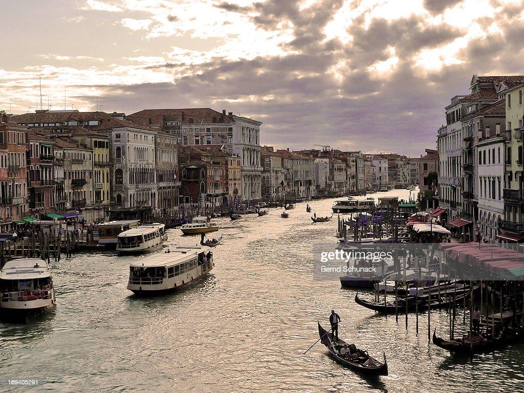 Canal Grande, Venice : Stock-Foto