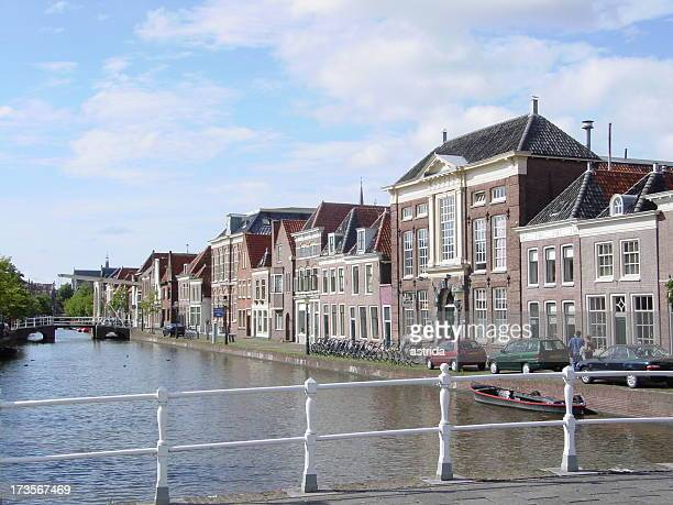 Canal & Houses, Alkmaar, Holland