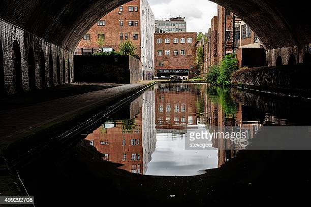 canal in birmingham, england - west midlands stock pictures, royalty-free photos & images