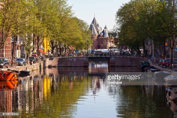 Canal in de centrale Amsterdam