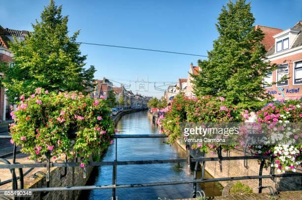 Canal in Sneek - Friesland, Ntherlands