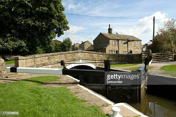 Canal Lock Landscape