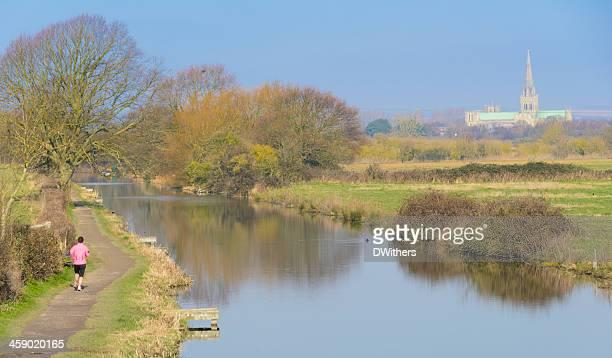 Canal Path Runner