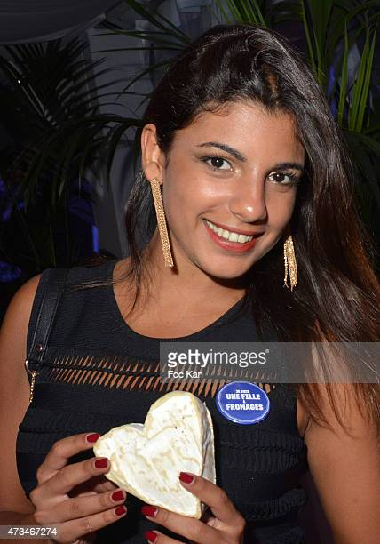 CANNES FRANCE MAY 14 Canal Plus TV presenter Donia Eden attend 'Les Filles A Fromage' Party The 68th Annual Cannes Film Festival at Nikki Beach l on...