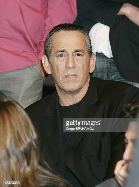 Canal Press Conference At The Theatre Du Chatelet In Paris France On August 28 2007 Thierry Ardisson