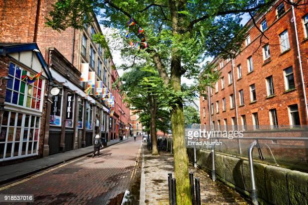 Canal Street, Manchester, England, UK - September 13, 2017