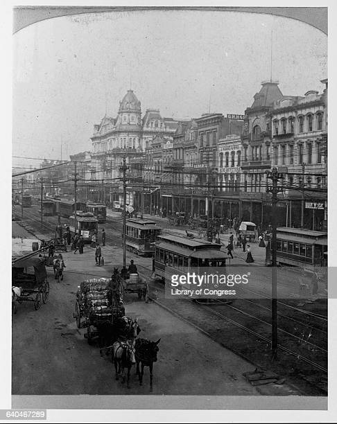 Canal Street New Orleans 1901