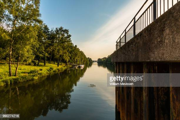 canal view - william mevissen stock pictures, royalty-free photos & images