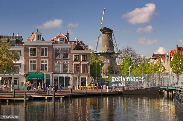 Canal, Windmill, and Square