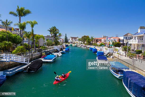 Canals around Naples in Long Beach, California