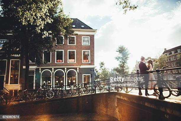 canals of amsterdam - amsterdam stock pictures, royalty-free photos & images