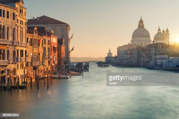 canals of venice, italy - gondola traditional boat stock pictures, royalty-free photos & images