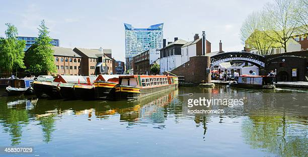 canals - west midlands stock pictures, royalty-free photos & images