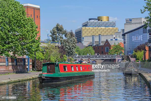 canals - birmingham england stock photos and pictures
