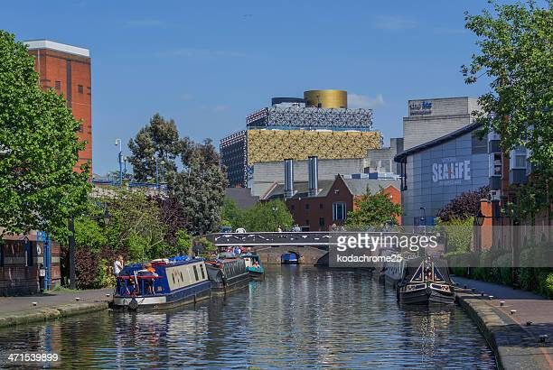 canals - birmingham england stock pictures, royalty-free photos & images