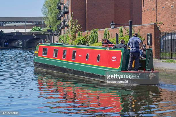canals - barge stock photos and pictures