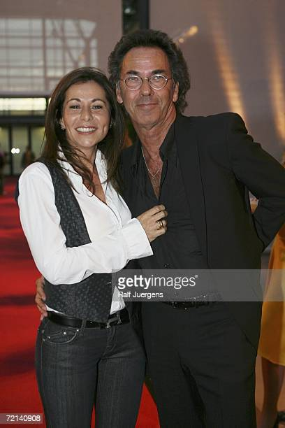 Canan Balder and Hugo Egon Balder attend the German Comedy Awards at The Coloneum on October 10 2006 in Cologne Germany