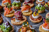 Canapes for party
