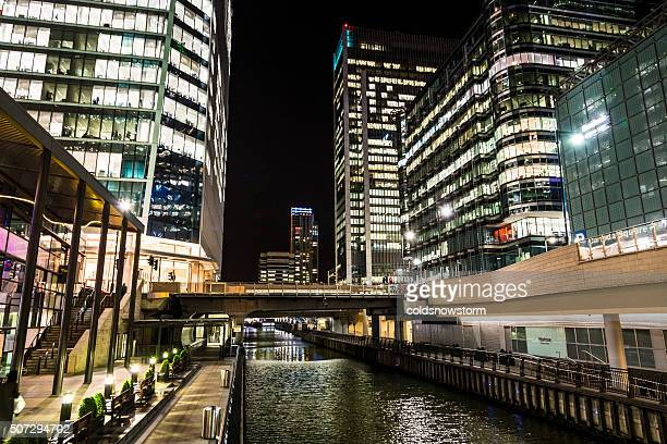 Canary Wharf and Business District, Isle of Dogs, London, UK