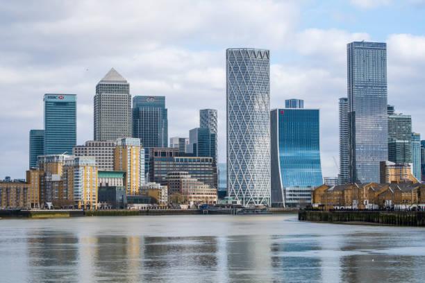 Canary Wharf cityscape