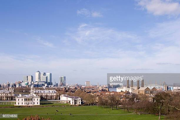 Canary Wharf, Greenwich und das Millennium Dome