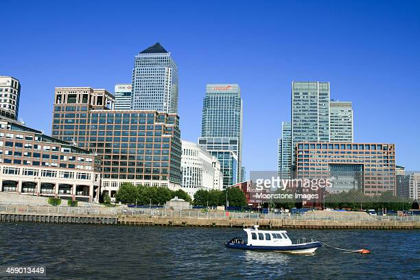 Canary Wharf in London, England