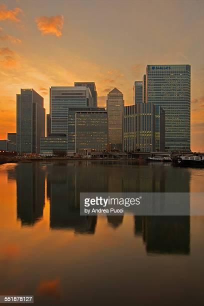 Canary Wharf, London, England.